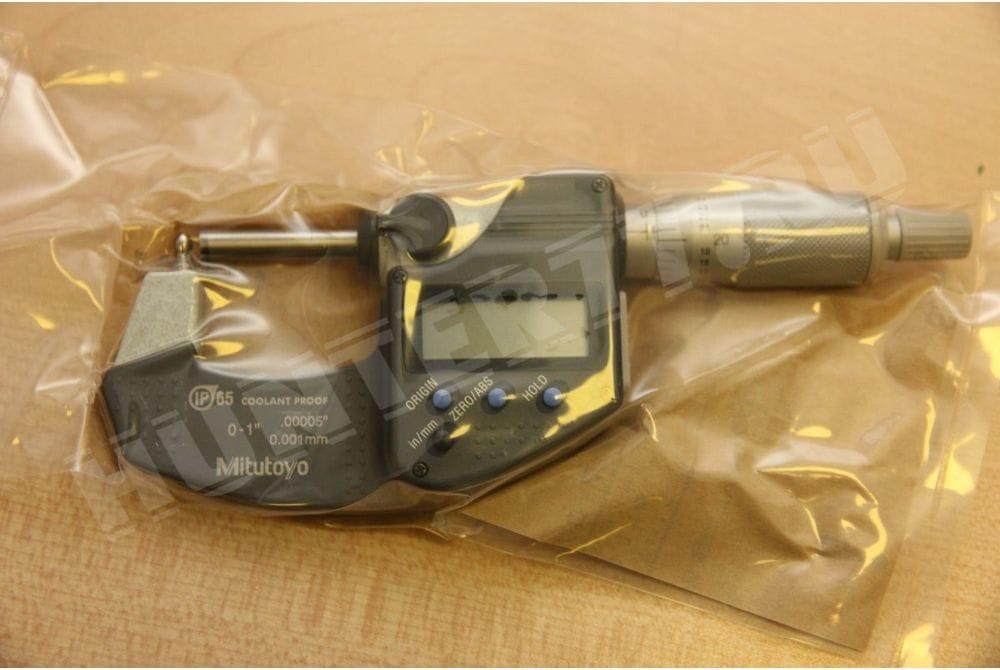 Трубный микрометр с шариком Mitutoyo 395-362-30 Tube Micrometer, IP65 Type B