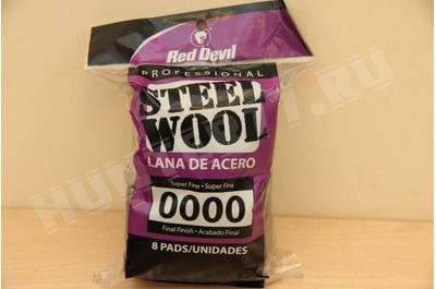 Стальная вата Steel Wool 0000 Super Fine