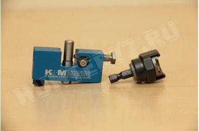 Точилка толщины шейки дульца гильзы KM комплект без ручки