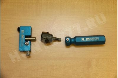 Точилка+переходник+ручка толщины шейки дульца гильзы KM