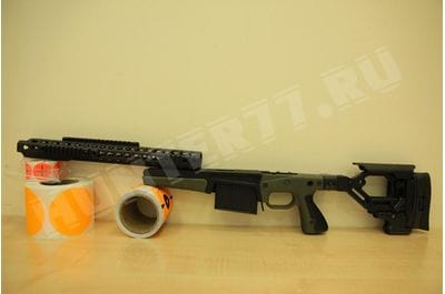 Ложе AX-2014 ACCURACY INTERNATIONAL Long Action AICS LA .300WM .338LM зеленое