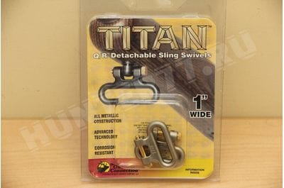 "Антабки Titan Swivel  черные 1"" 1,25"""