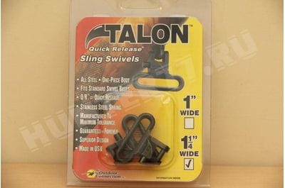 "Антабки Talon Swivel черные 1"" 1,25"""