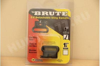 Brute Swivel swabs black 1 1.25