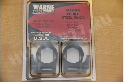 Кольца быстросъемные 30 mm Warne