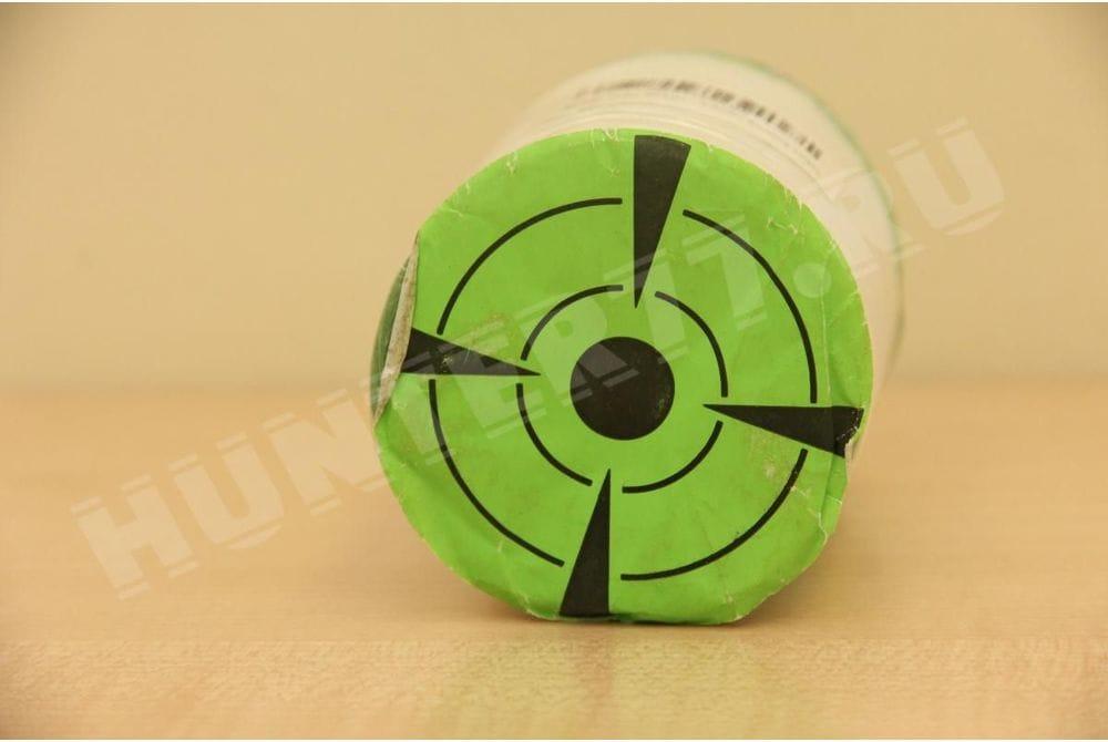 """Мишени 3"""" 250 штук зеленая флюоресцентная самоклейка"""