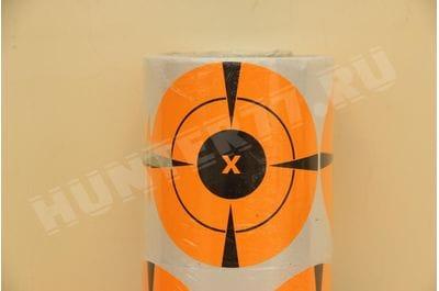 """Мишени 4"""" 100 штук флюоресцентная оранжевая"""