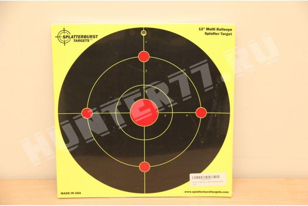 """Мишень 12"""" круглая одиночная Splatterburst Targets"""