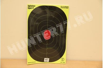 Targets 12 X 18 oval mesh Splatter sports