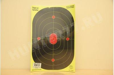 """Super Splatter 12"""" X 18"""" Bullseye Super Splatter Targets"""