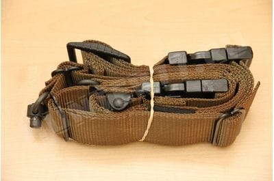 Belt rifle RAS Flush Cups QD coyotу TAB Gear Rapid Adjust Sling