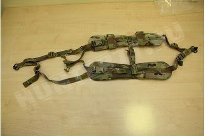 Biathlon-type belt for animated cartoons for heavy rifles