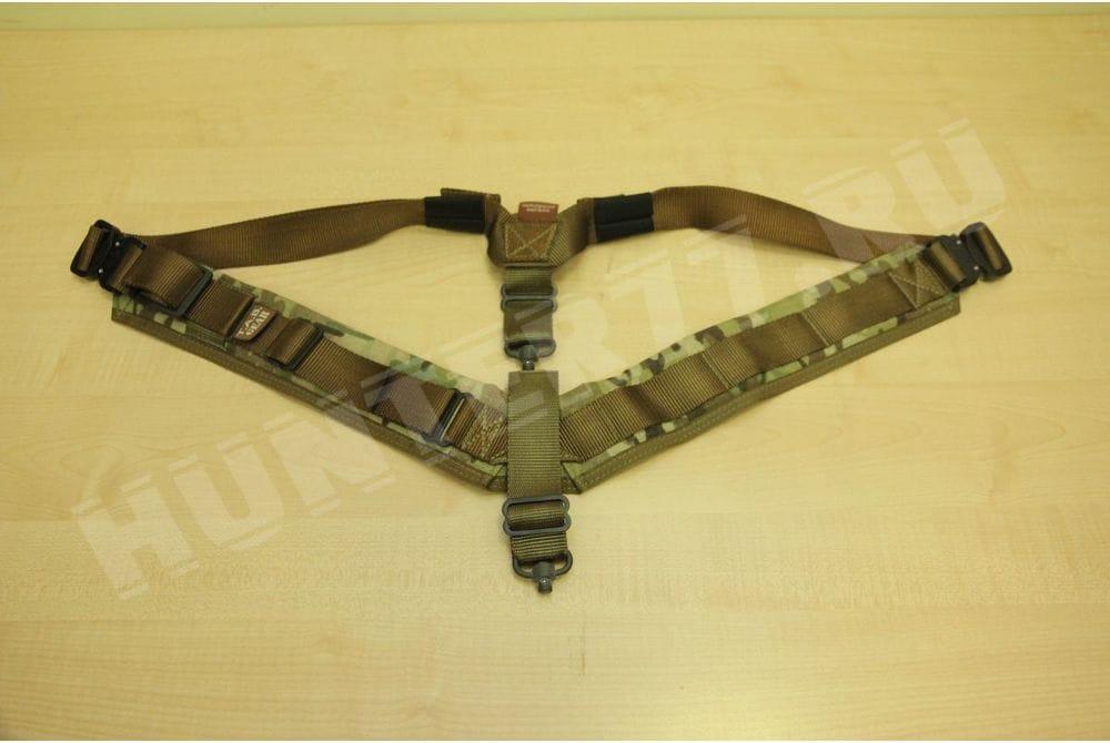 Ремень биатлонный Элит flush cup swivel attachments TAB Gear мультикам