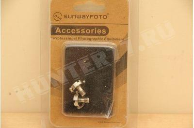 """Винт крепления 1/4"""" Sunwayfoto с кольцом для адаптеров"""