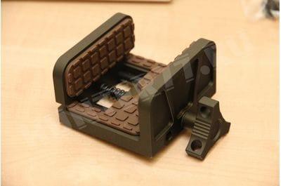 Платформа-зажим для винтовки и пулемета на  Манфротто Shadow HOG  Saddie MOD7