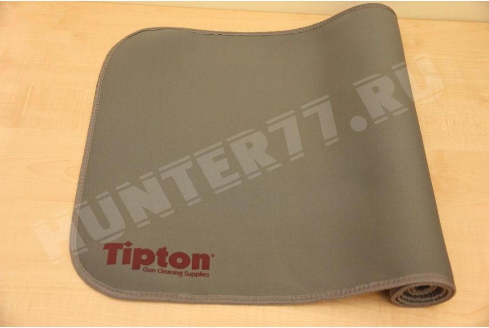 Коврик 16x54 дм Tipton для чистки оружия серый 137 см х 41 см