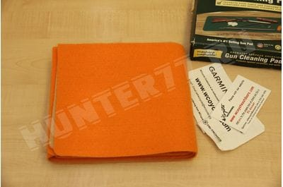 Коврик 16x54 дм Drymate для чистки оружия оранжевый / зеленый
