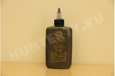 Genuine GI LSA Weapons Gun Rifle Oil 4 oz. LSA, GSE, WEAPONS OIL 4 OZ BOTTLE, GSE HEAVY WEAPONS RIFLE LUBE BOTTLE