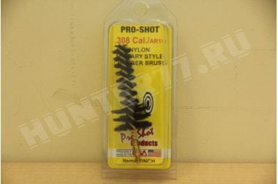 30NCH - .308 Cal./AR 10 Military Style Nylon Chamber Brush Pro-Shot Products