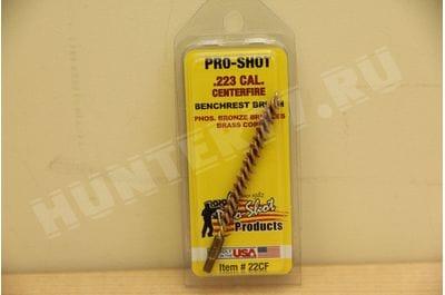 Bronze Cal223 Cal. Centerfire Rifle Brush (.22 Cal./5.56mm) Pro-Shot 22CF