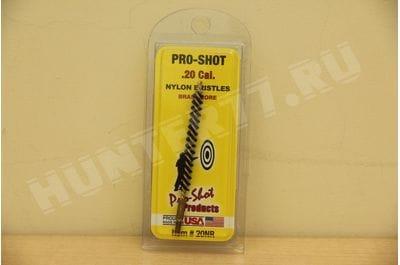 .20 Cal. Nylon Rifle Brush - #5-40 Threads Pro-Shot Products 20NR