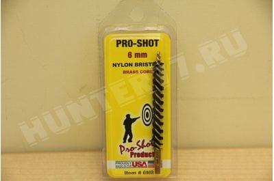 6NR 6mm Nylon Rifle Brush Pro-Shot Products