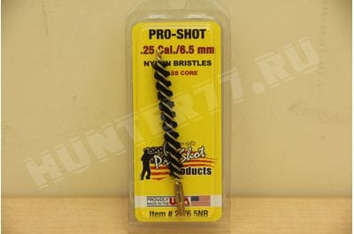 25/6.5NR .25 CAL./6.5mm Nylon Rifle Brush Pro-Shot Products