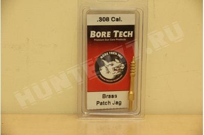 BRASS V-STIX PATCH JAG  .30 CAL Bore Tech SSPJ-30-000