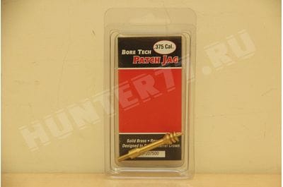 BRASS V-STIX PATCH JAG .375 CAL Bore Tech SSPJ-375-00