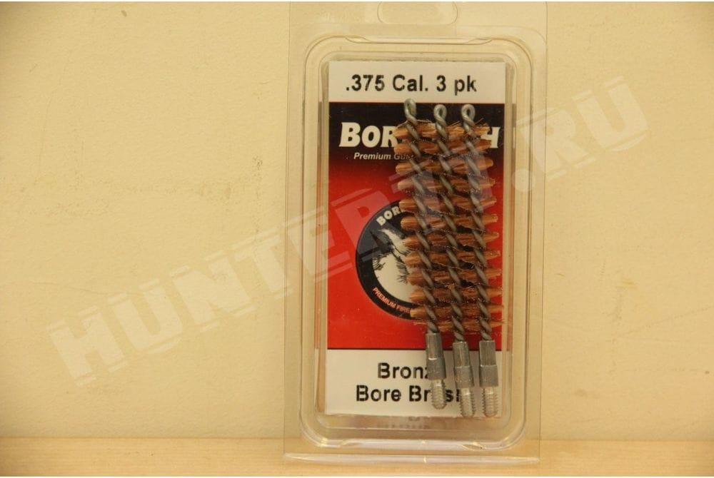 Бронзовый ерш .375 CAL Bore Tech 3 шт  .375 CAL (3PK) Part Number: BTBR-375-03