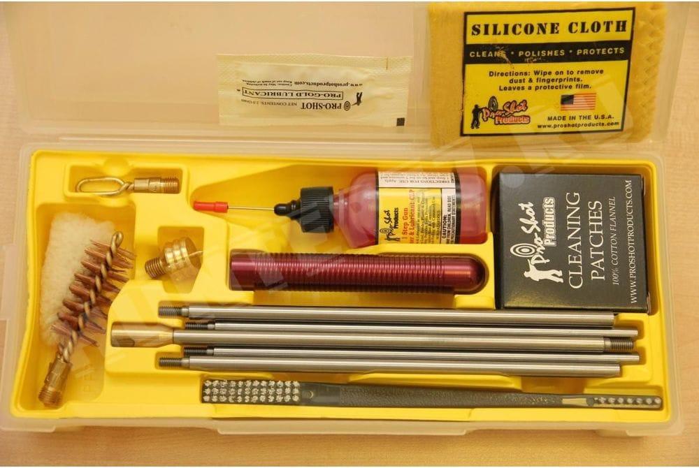 Складной комплект для чистки кал. 12 Pro-Shot