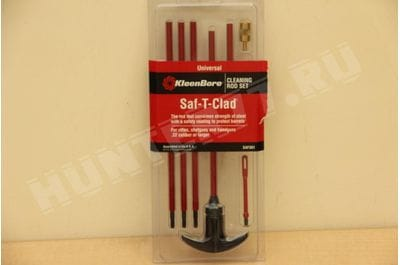 Kleenbore Gun Care clamshell package Universal Saf-T-Clad Cleaning Rod Set SAF 301